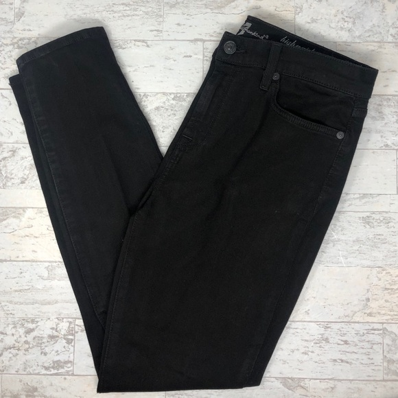 7 For All Mankind Denim - 7 For All Mankind High Waist Ankle Gwenevere Jeans